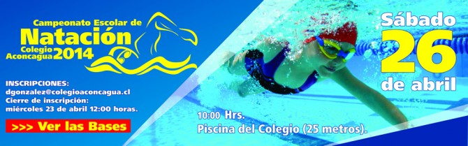 banner natacion torneo