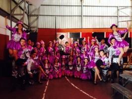 Los talleres de danza tendrán que demostrar sus bailes este domingo.