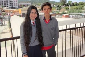 Ambos alumnos fueron galardonados en este festival de canto.