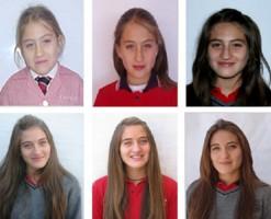 El transcurrir del tiempo refleja la madurez de Francisca en su paso por el colegio.