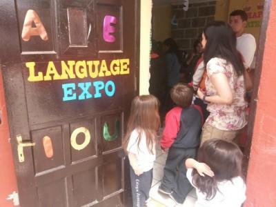 Los aconcagüinos preescolares han tenido un día lleno de lenguaje.