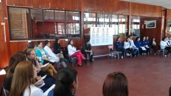 Los docentes están realizando capacitaciones para fortalecer sus áreas de trabajo.