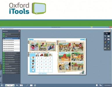 Los alumnos podrán interactuar con el material de estudio de su libro.
