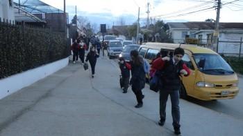 Nuestro Colegio Aconcagua prepara recibimiento a sus alumnos nuevos y antiguos.