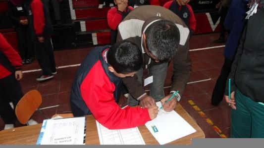 Apoderados y alumnos tendrán que sortear las distintas etapas de las olimpiadas.