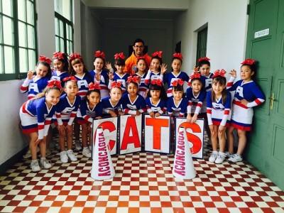 """Las """"Cats"""" ahora van por la defensa del campeonato nacional."""