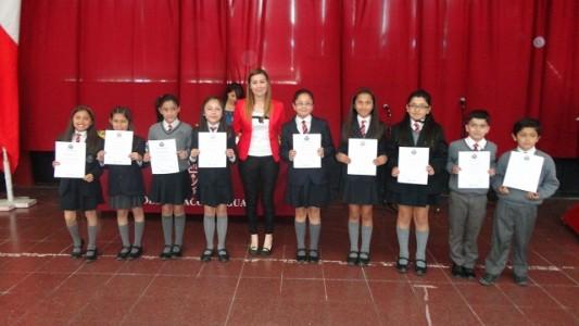 Al igual que años anteriores, los alumnos serán reconocidos por el Dpto. de Inglés.