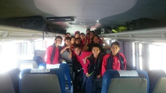 La primera delegación ya va viajando a Talca.
