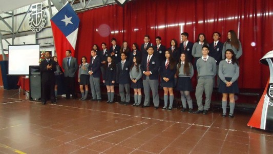 Los alumnos serán reconocidos hoy en nuestro gimnasio.