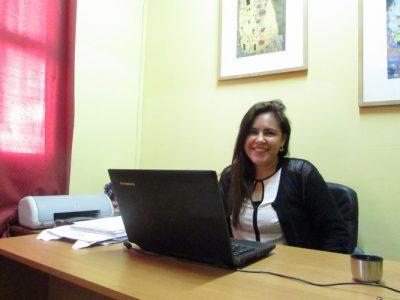 Miss Angélica Araya (Psicóloga del Colegio).