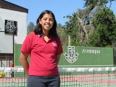 Fernanda Duarte alumna de 8° básico Oxford.