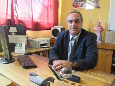 Míster Pablo Soto (Docente del Departamento de Ciencias y Profesor Jefe de II° medio London).