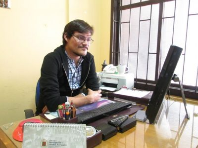 Míster Miguel Rocco (Director de Ciclo 7° y 8° básicos)