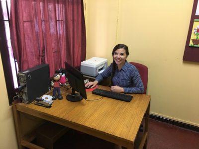 Miss Yenipher Herrera (Directora Administrativa Primer Ciclo)