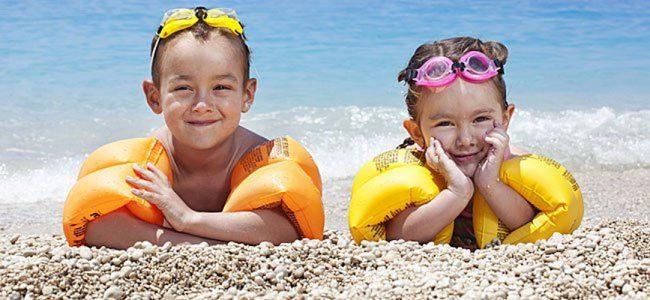 Niños disfrutando del Verano.