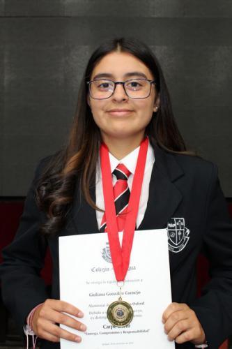 Giuliana González Cornejo - Primero Medio Oxford