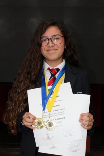 Laura Orellana Melo - Primero Medio Oxford