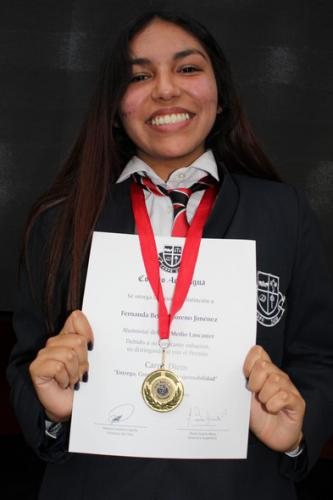 Fernanda Moreno Jimenez - Tercero Medio Lancaster
