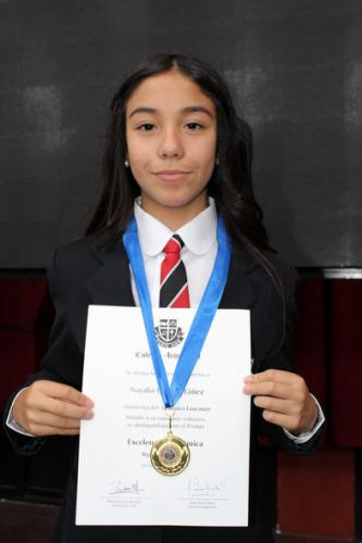 Natalia Urmaña Yáñez - Quinto Básico Lancaster