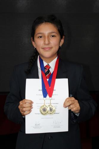 Rocío Yáñez Yáñez - Octavo Básico Lancaster