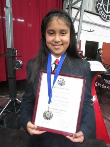 Rocío Olivares Gutiérrez - Cuarto Básico Lancaster
