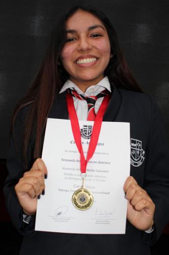 Fernanda Moreno Jiménez - Tercero Medio Lancaster